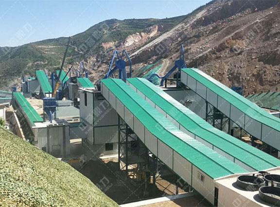甘肃年产400万吨智能矿山生产线